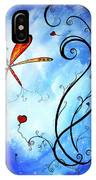 Springs Sweet Song Original Madart Painting IPhone Case