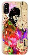 Springsteen Colored Grunge IPhone Case