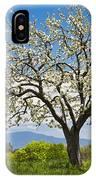 Springtime Apple Tree Panorama IPhone Case