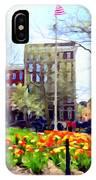 Springtime At Abingdon Square Park #2 IPhone Case