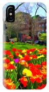 Springtime At Abingdon Square Park IPhone Case