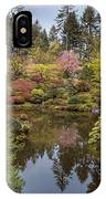 Springtime At Portland Japanese Garden IPhone Case