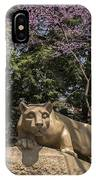 Springtime At The Lion Shrine IPhone Case