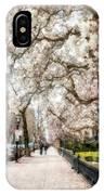Springtime Boston Back Bay IPhone Case