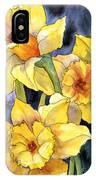 Springtime Daffodils IPhone Case