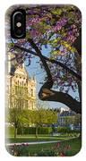 Springtime In Paris IPhone Case by Brian Jannsen