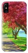 Springtime In The Park IPhone Case