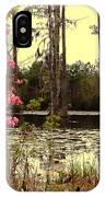 Springtime In The Swamp IPhone Case