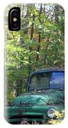 Springtime In The Woods Of Maine IPhone Case