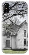 Springtime Ledge Homestead-bicolor IPhone Case