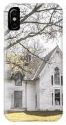 Springtime Ledge Homestead IPhone Case