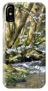 Springtime Stream In The Smokies IPhone Case