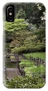 Springtime Walkway IPhone Case