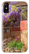 Springtime Wisteria In Old Bisbee IPhone Case