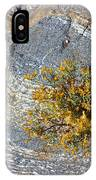 Sprouting Rock IPhone Case
