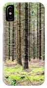 Spruce Forest IPhone Case