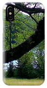 Spruce Knob Silhouette IPhone Case