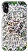 Square Dandelion 2 IPhone Case