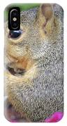 Squirrel - Morning Snack 02 IPhone Case