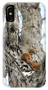 Squirrels At Play Vertically IPhone Case