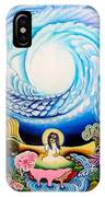 Sri Hridaya Darpana-the Mirror Of The Heart IPhone Case
