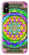 Sri Yantra - Artwork 7.5 IPhone Case