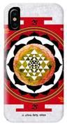 Sri Yantra Magic IPhone Case