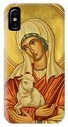 St. Agnes - Jcagn IPhone Case