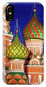 St Basils Cathedral In Moscow Russia IPhone Case