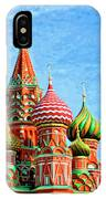 St. Basil's Cathedral Moscow IPhone Case