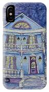 St. Charles Blue House IPhone Case