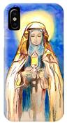 St. Clare Of Assisi IPhone X Case