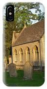 St Davids Church Cemetary 1 IPhone Case