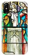 St. Edmond's Church Stained Glass Window - Rehoboth Beach Delaware IPhone Case