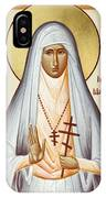 St Elizabeth The New Martyr IPhone Case