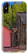 St. Elmo Pink House And Barn IPhone Case