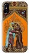 St. Francis And The Sultan - Rlsul IPhone Case