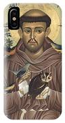 St. Francis Of Assisi - Rlfoa IPhone Case