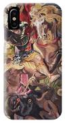 St George And The Dragon IPhone Case