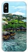 St. George Bermuda Shoreline IPhone Case