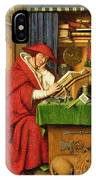 St. Jerome In His Study  IPhone Case
