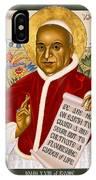 St. John Xxiii - Rlpjn IPhone Case