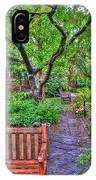 St. Luke Garden Sanctuary IPhone Case
