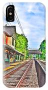 St. Martins Train Station IPhone Case