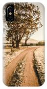 St Marys Winter Country Road IPhone Case
