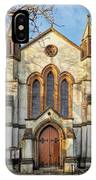 St Michael And St George R.c Church - Lyme Regis IPhone Case