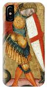 St Michael And The Dragon IPhone Case