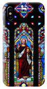 St. Michael's Parish Stained Glass IPhone Case