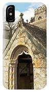 St Mylor And Bell Tower IPhone Case