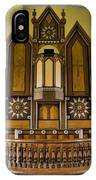 St Olafs Kirke Pulpit IPhone Case